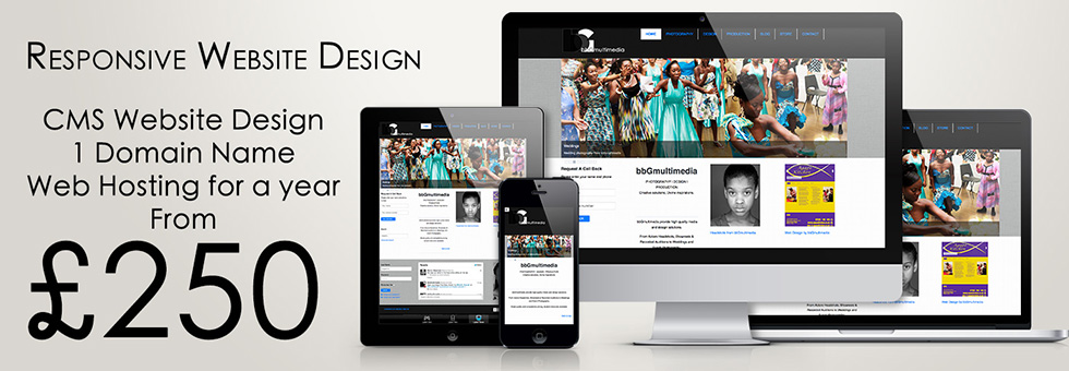 bbGmultimedia Hackney London Responsive web designs.